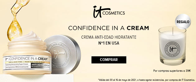 It Cosmetics Regalo de una vela por compras superiores a 39€
