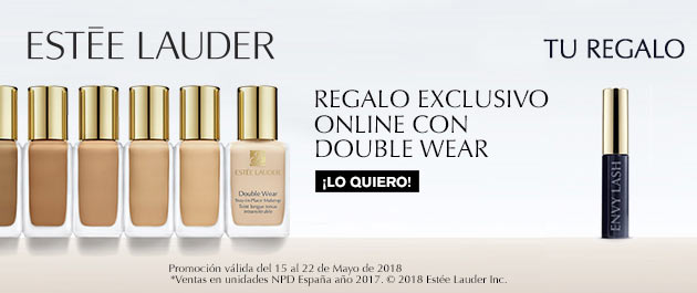 Regalo exclusivo online con Estée Lauder Double Wear