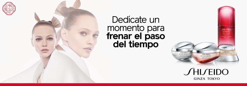 Shiseido cremas antiedad