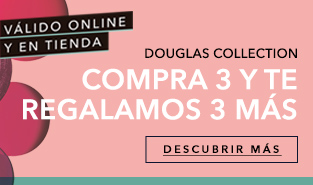 Promoción 3+3 Douglas Collection
