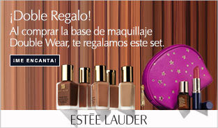 Estée Lauder Double Wear regalo de un set con minitallas