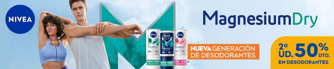 2ª unidad al 50% en una selección de desodorantes Nivea