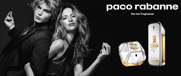 Paco Rabanne 1 Million & Lady Million Lucky