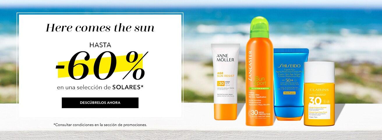 Hasta -60% en Solares
