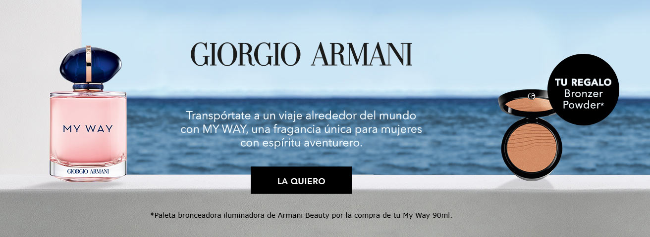 Giorgio Armani My Way Regalo Paleta Bronceadora Armani