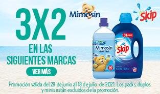 3x2 en una selección de productos del grupo Unilever