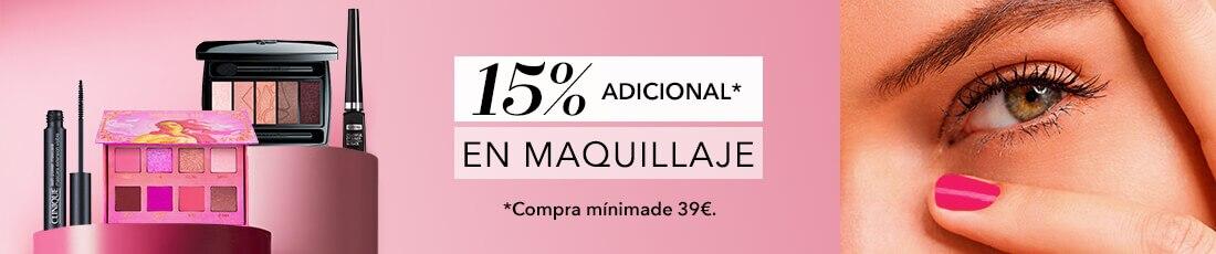 -15% en maquillaje