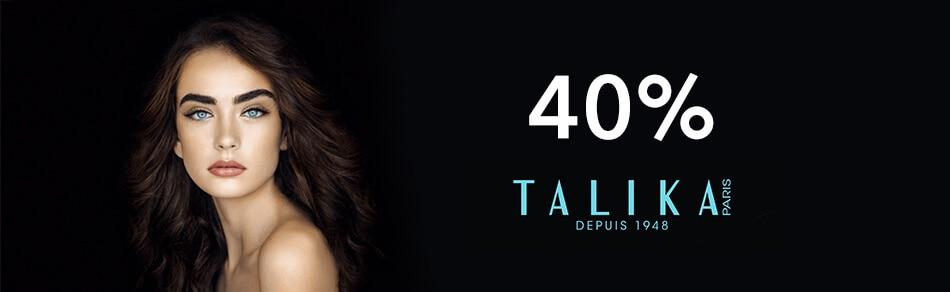 40% en Talika