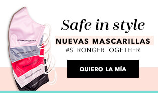 Nuevas mascarillas Stronger Together