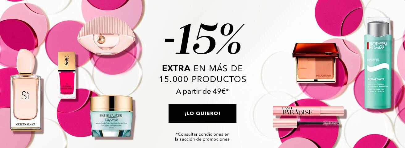 -15% extra en toda la web