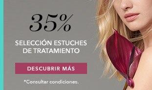 35% en estuches