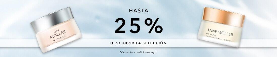 Hasta 25% en selección