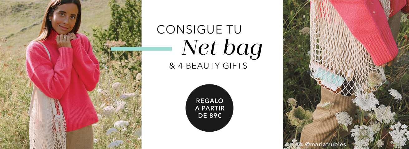 Regalo Net bag & 4 Beauty gifts