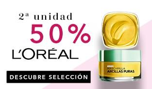 2ª unidad al 50% L`Oréal