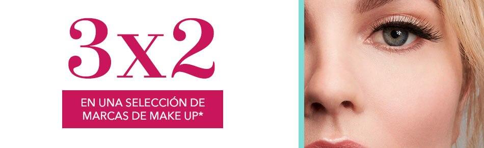 3x2 en maquillaje
