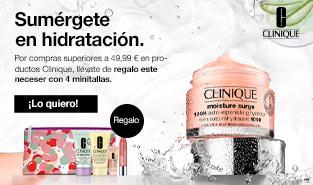 Clinique Moisture Surge 100-Horas Gel-crema Auto-rehidratante Regalo minitallas