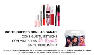 Promoción regalo L´Oréal Makeup
