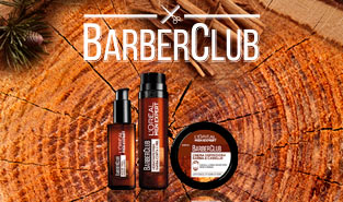 L´Oréal Men Expert Barber Club