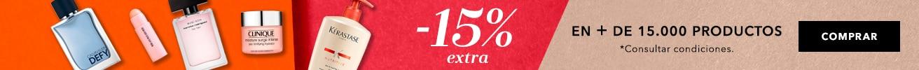 15% en todo