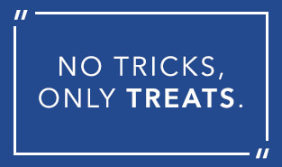 Halloween: No tricks only treats