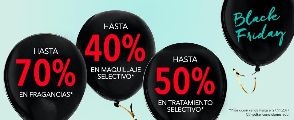 Promociones 70%, 40%, 50%