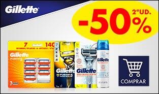 2ª unidad al 50% en Gillette