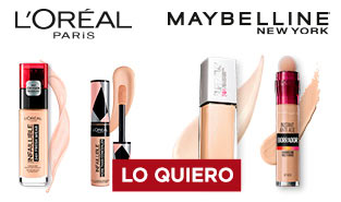 Maquillaje en Navidad con Maybelline y L´Oréal