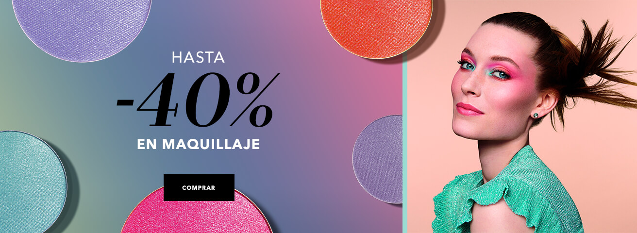 -40% en maquillaje