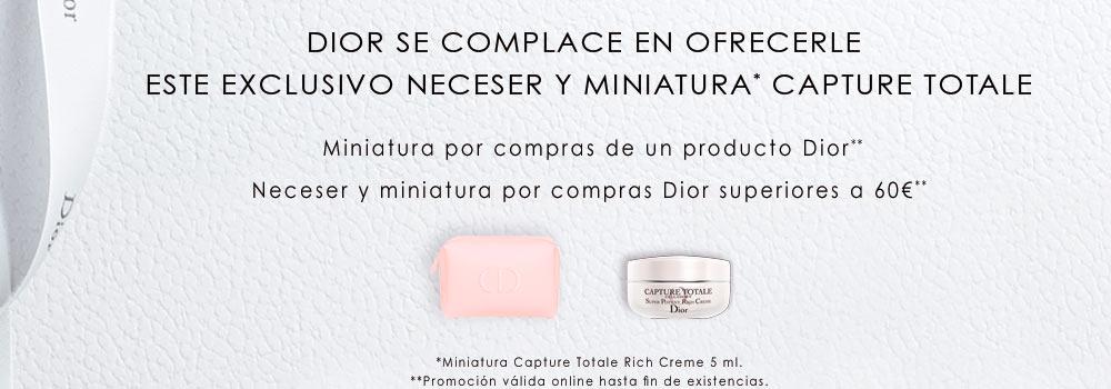 Por la compra de un producto Dior, regalo de este vial de Crema Rica en formato 5ml de la marca. Promoción válida desde el 24 de febrero hasta agotar las 2.000 unidades disponibles para compras online