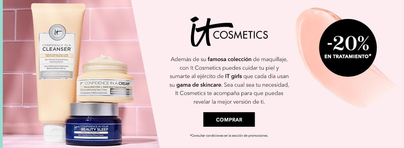 20% de descuento en referencias de Tratamiento de IT Cosmetics
