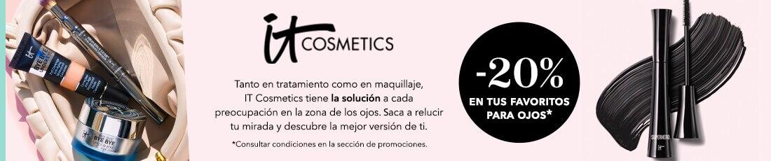 It Cosmetics 20% de descuento en selección de productos para ojos