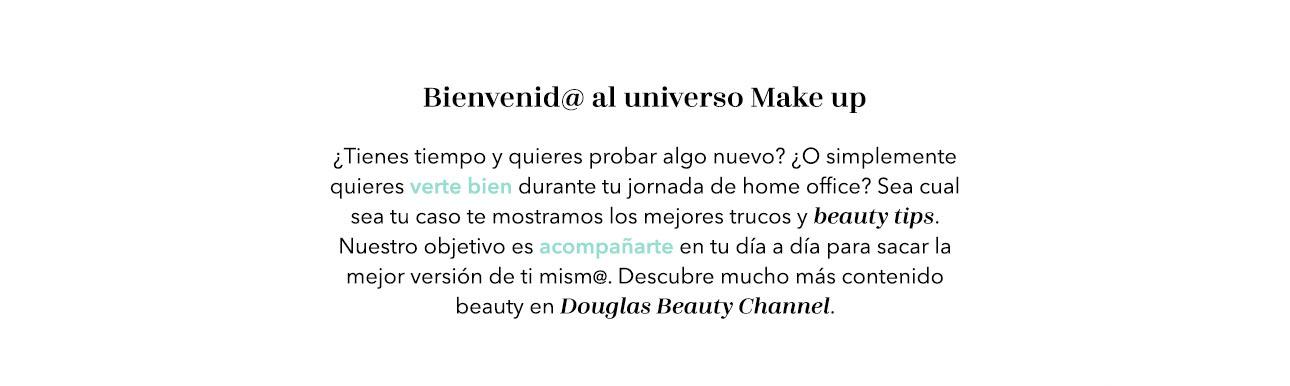 Douglas Beauty Channel Make Up