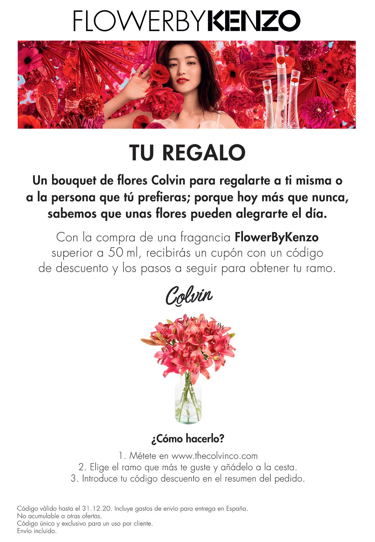 FlowerbyKenzo bouquet de flores Colvin