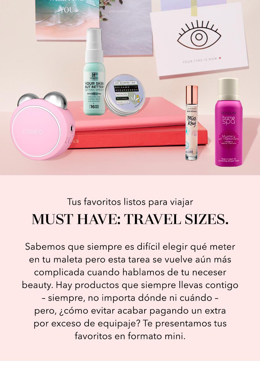 Travel sizes