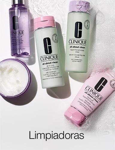 Clinique, cosmética, maquillaje y perfumes