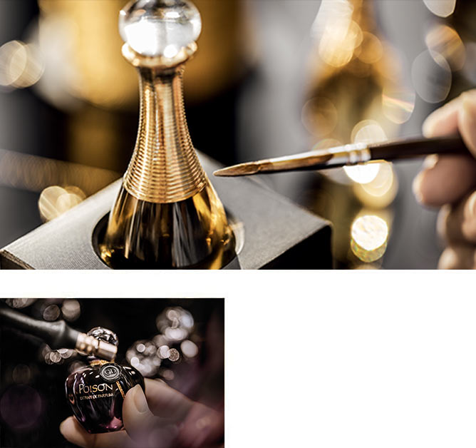 La maestría de los perfumes Dior