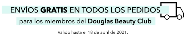 Gastos de envío GRATIS para miembros del Douglas Beauty Club