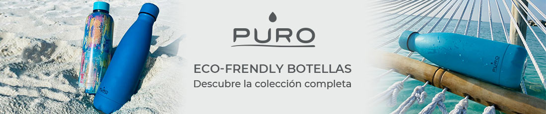 Puro Eco-friendly botellas