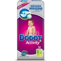 Dodot Activity T 3 De 4 a 10 KG