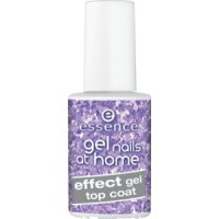 Essence Gel nails at home top coat effect gel