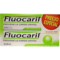 Fluocaril Pasta dental bi-fluoré pack 2 unidades