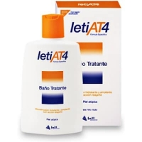 LetiAt4 Gel de baño at-4 hidratante