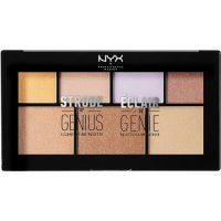 NYX NYX Strobe of Genius Make up Paleta de Iluminadores