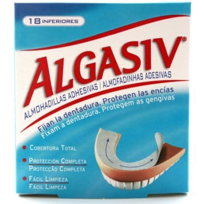 Algasiv Algasiv almohadilla adhesiva inferior dentadura