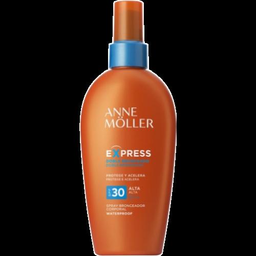 Anne Moller Express Lait Spray Bronceador Spf 30