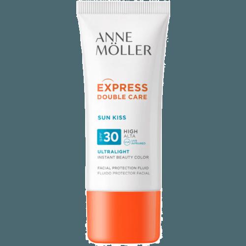 Anne Moller Express Double Care Sun Kiss Fluido Facial Spf30