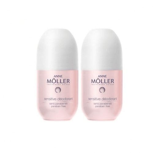 Anne Moller Anne Moller Desodorante Sensitive Duo Roll On