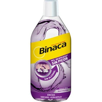 Binaca Enjuague bucal 500 ml. Encías