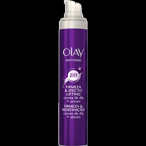 Olay Olay antiedad 2 en 1 crema de dia y serum