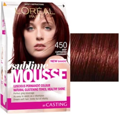 Sublime Mousse TINTE CAPILAR 450 DEEP CAPTIVATING MAHOGANY